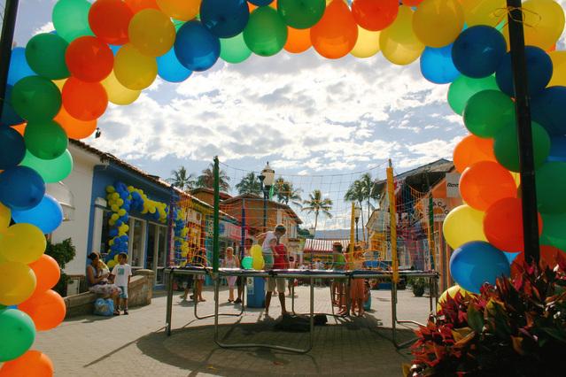 balóny a oslava pro děti